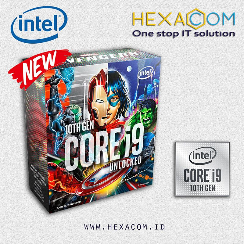 Intel Core i9 -10850K 10 Core 20 Thread 20M Cache 3.6 up to 5.2 GHz